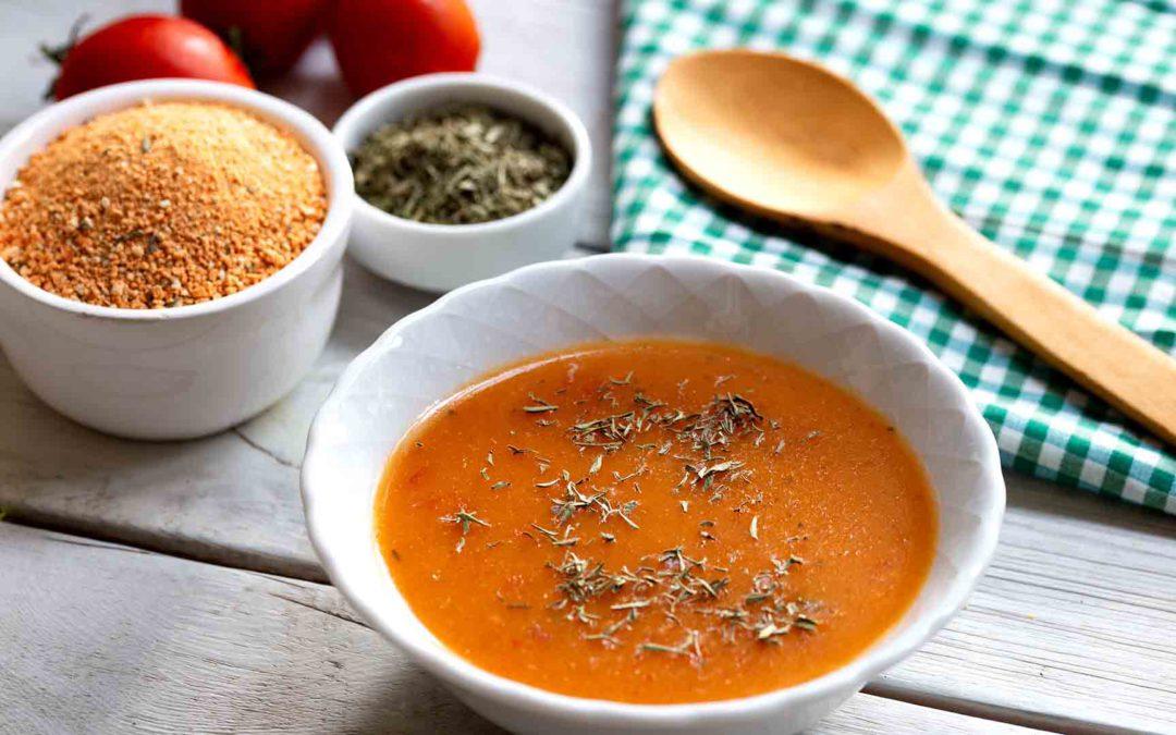 Rote Tarhana-Suppe